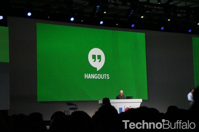 Google Hangouts at Google I:O 2013 - 06