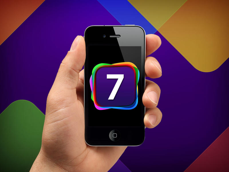iOS 7 on iPhone 4S - WWDC 2013