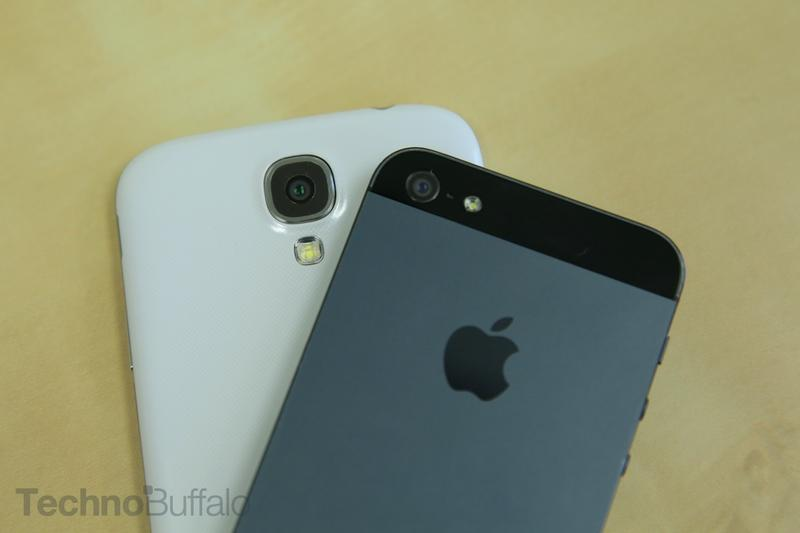Samsung Galaxy S4 VS Apple iPhone 5-Camera