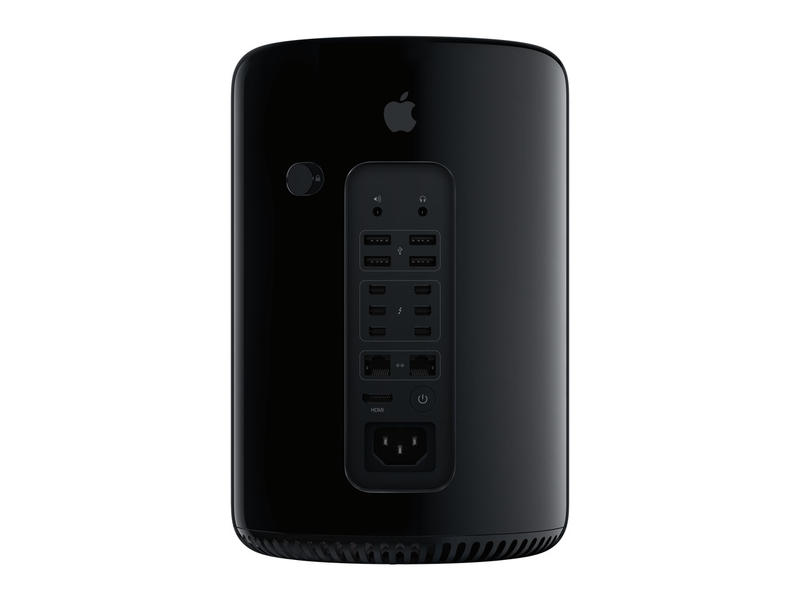 Apple Mac Pro 2013 - Back - Press