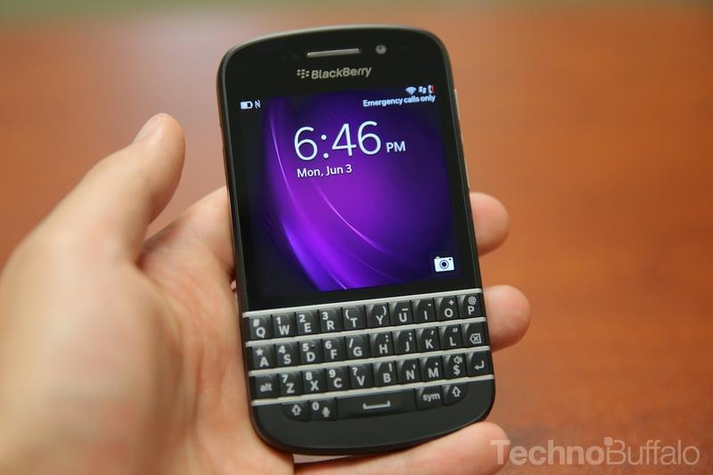 BlackBerry Q10-Lock Screen