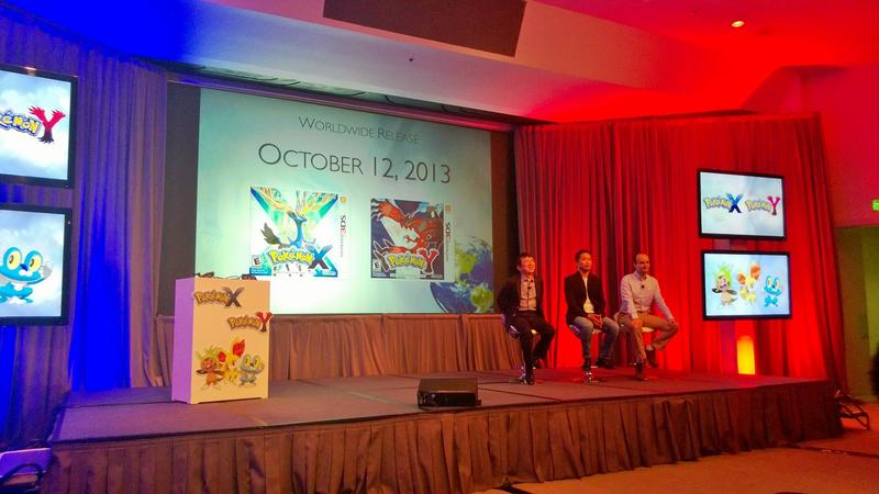 Pokemon X and Y Developer Round Table