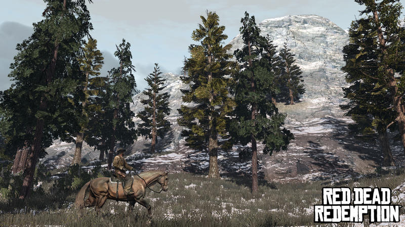 Red Dead Redemption - Tall Trees