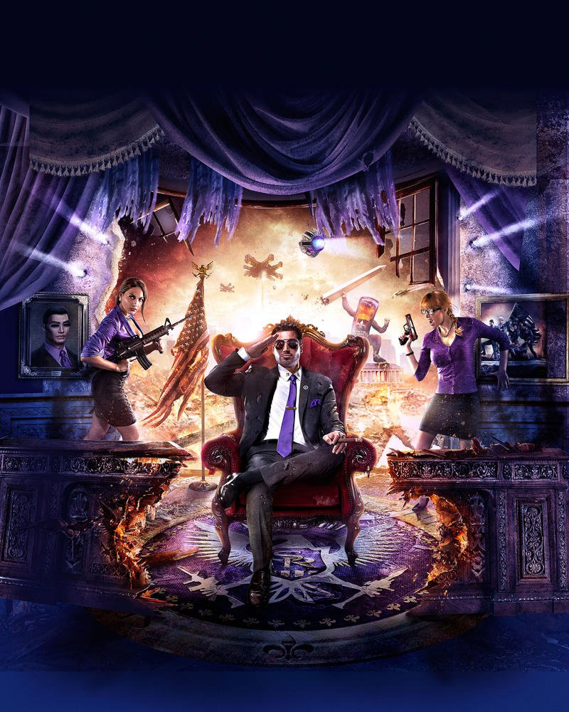 Saints Row IV White House Oval Office