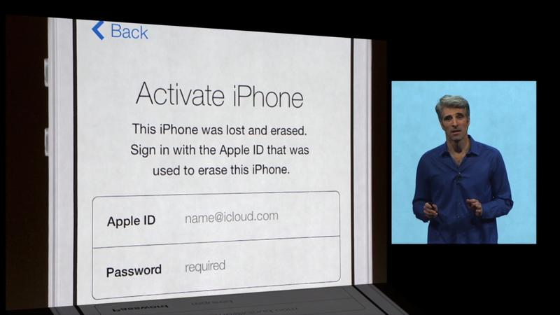 WWDC 2013 - iOS 7 - Activation Lock - 025