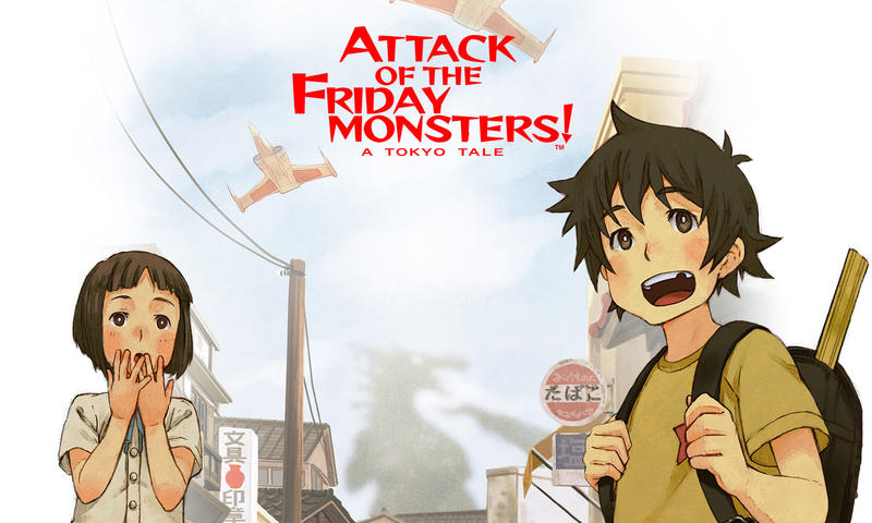 Attack of the Friday Monsters - A Tokyo Tale