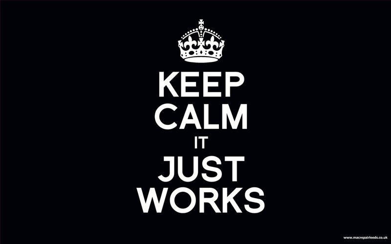 keep_calm_it_just_works