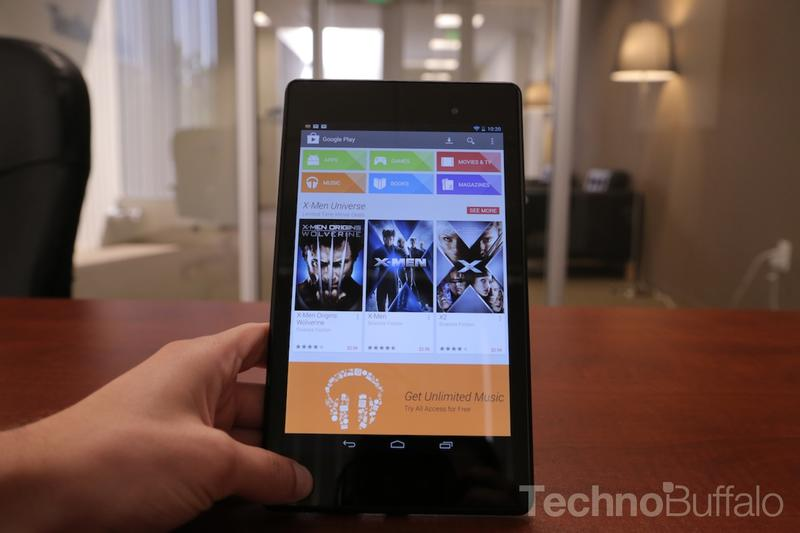 Nexus 7 - Google-Play-Store