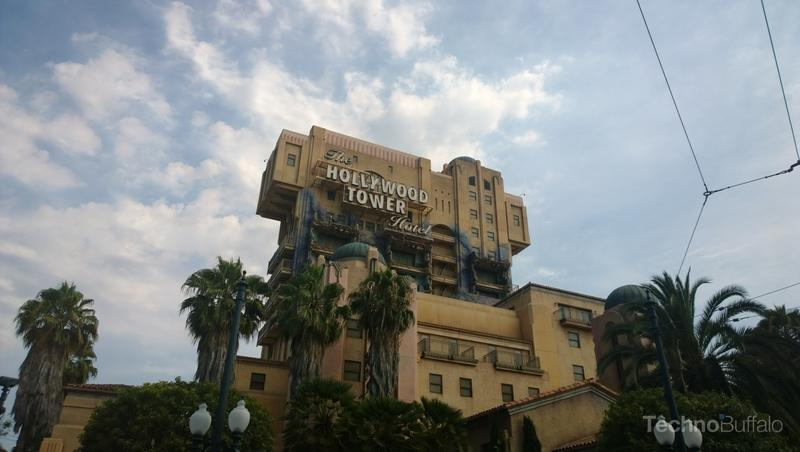 Walking up to Tower of Terror, factually, 100 percent the best ride between the two parks. Research is based on my experience at both parks.