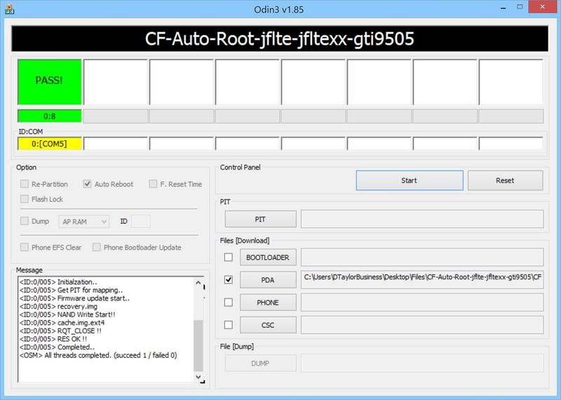 Rooting Galaxy S4 - PASS #1