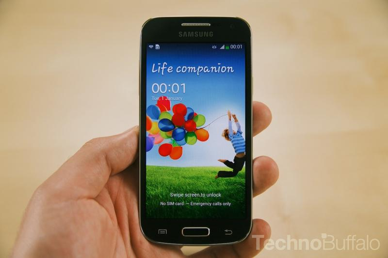 Samsung Galaxy S4 Mini-Lock Screen