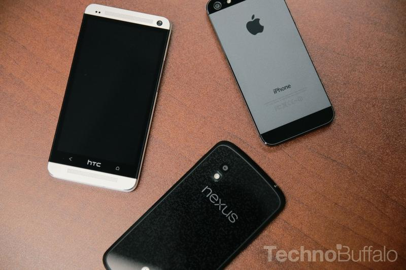 T-Mobile-Top 5-HTC One-iPhone 5- Nexus 4-1