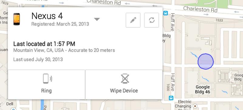 android device finder