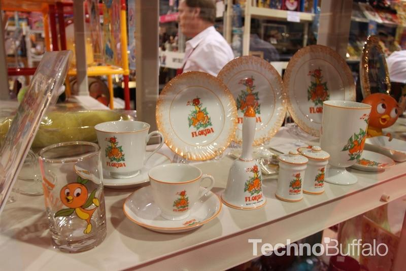 Gary had a fine collection of Orange Bird merchandise. You are not a true Disney fan unless you know Orange Bird.