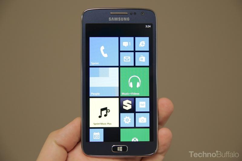 Samsung ATIV S Neo-Home Screen