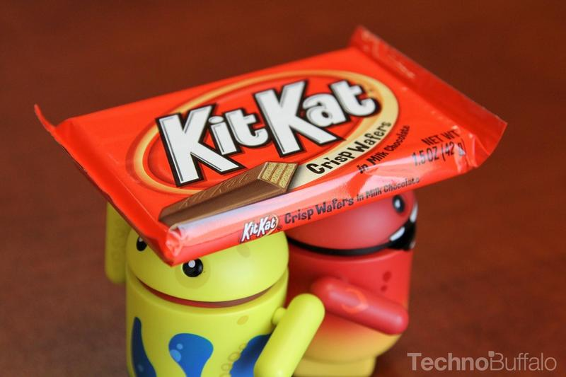 Android KitKat - Yellow and Red Mascots KitKat Helmet