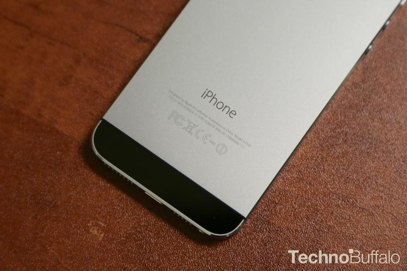 Apple iPhone 5s Space Grey Back
