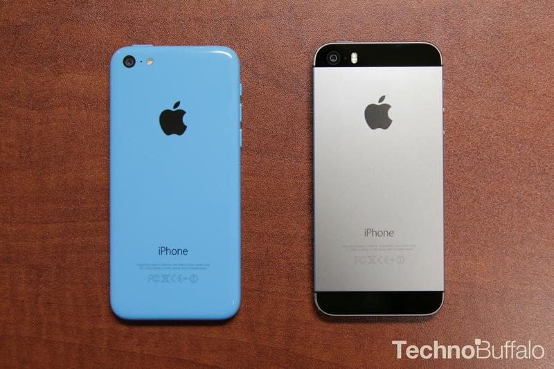 Apple iPhone 5s-VS-5c-Back