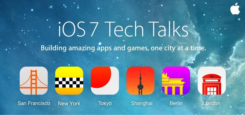 apple tech talks ios 7 conference