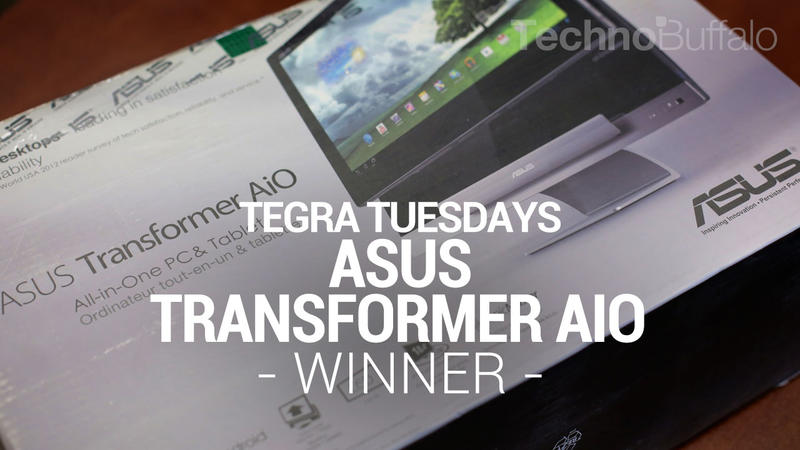 Asus Transformer AiO - Tegra Tuesday - Giveaway - Winner