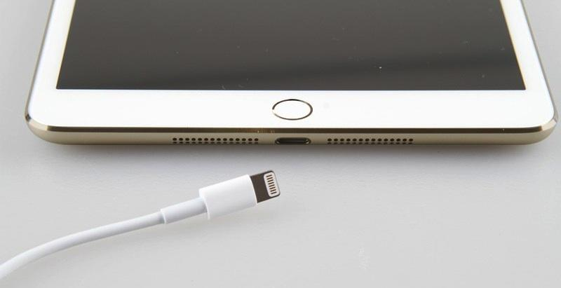 gold iPad mini 2 Touch ID leak