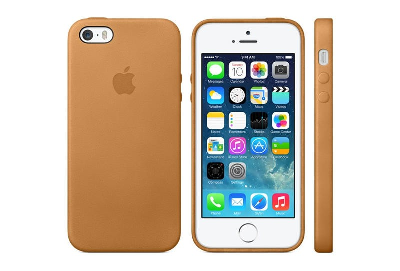 big sale 9b999 29a9b Apple iPhone 5S Official Leather Case Gallery | TechnoBuffalo
