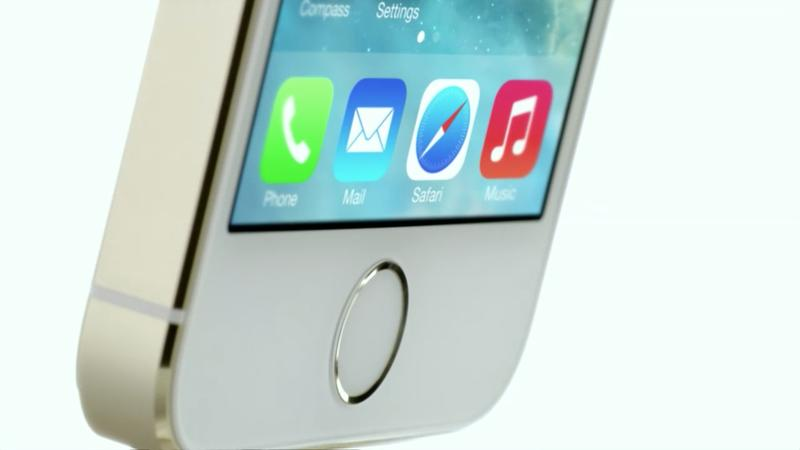 iPhone 5s iPhone 5c Keynote - iPhone 5s - Touch ID - Promo - 003