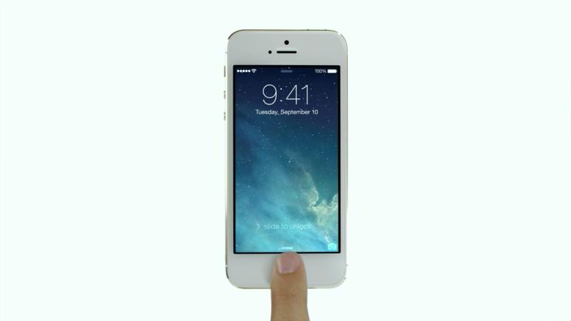 iPhone 5s iPhone 5c Keynote - iPhone 5s - Touch ID - Promo - 005