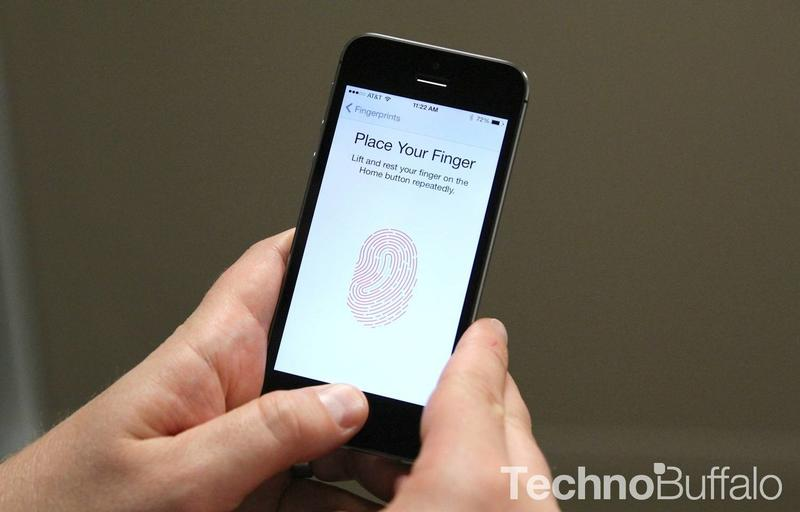 iPhone 5s Touch ID Demo