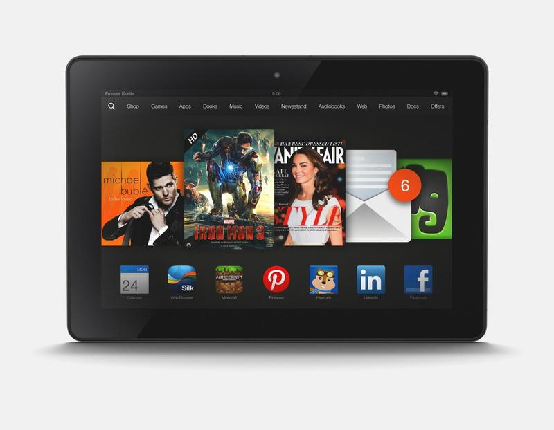 Kindle Fire HDX 89 Horizontal
