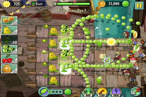 plants vs zombies 2 pirate seas day 15