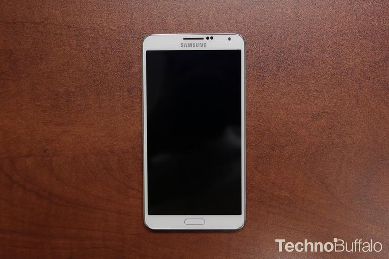 Samsung Galaxy Note 3-Front