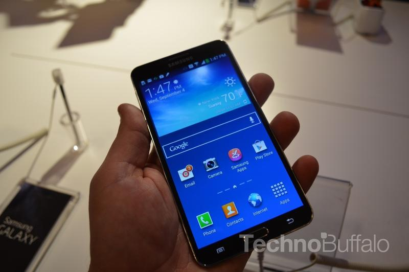 Samsung Galaxy Note 3 Hands-On - NYC - 017