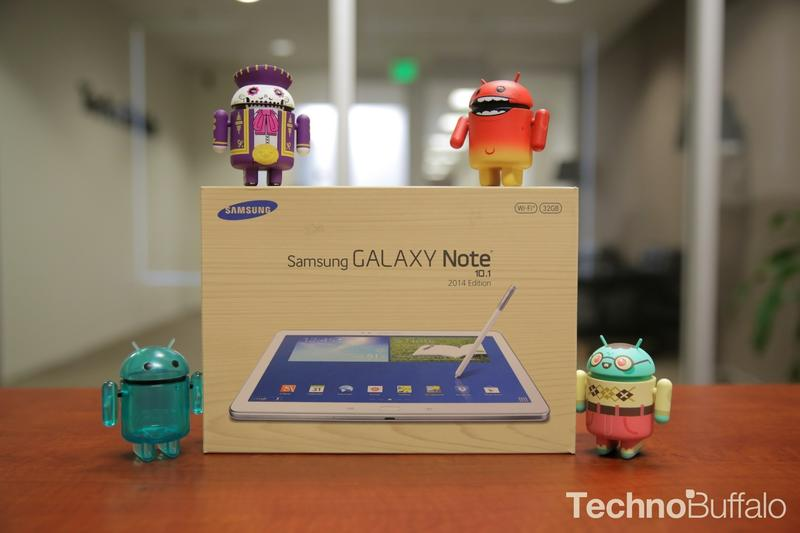 Samsung Note 10.1 2014 Edition-Box