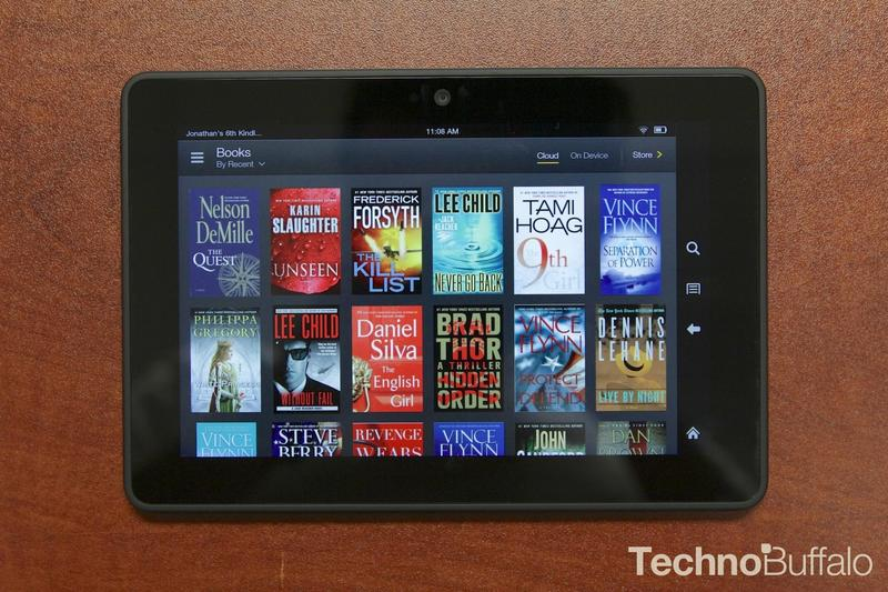 Amazon Kindle HDX 7-Books