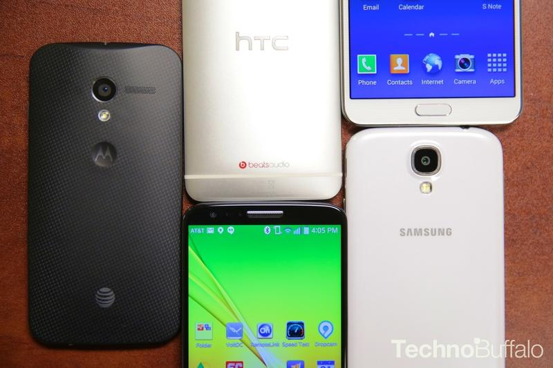 Android Phone Guide-S4-G2-Note 3-HTC One-Moto X-2