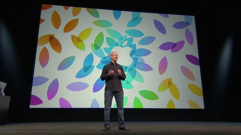 Apple - iPad 5 Event - Intro - Tim Cook - 003