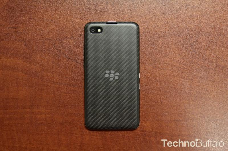 BlackBerry Z30-Back