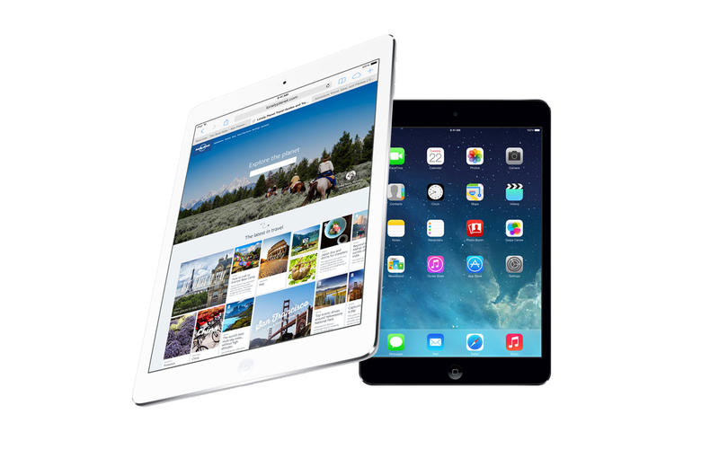 iPad Air vs iPad mini with Retina Display