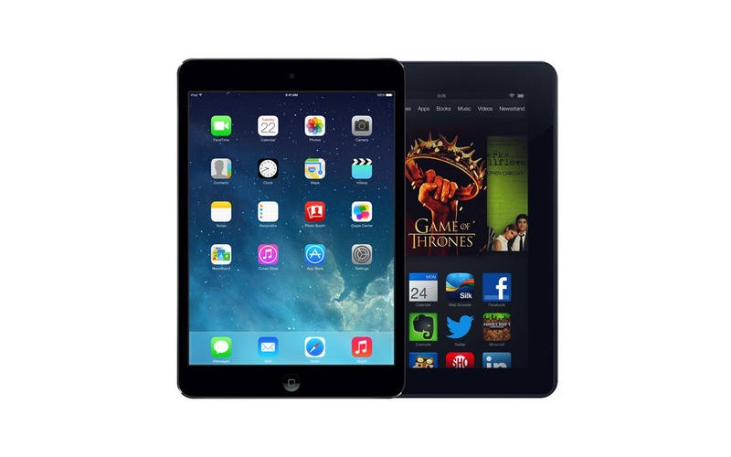 iPad mini with Retina Display vs Amazon Kindle Fire HDX