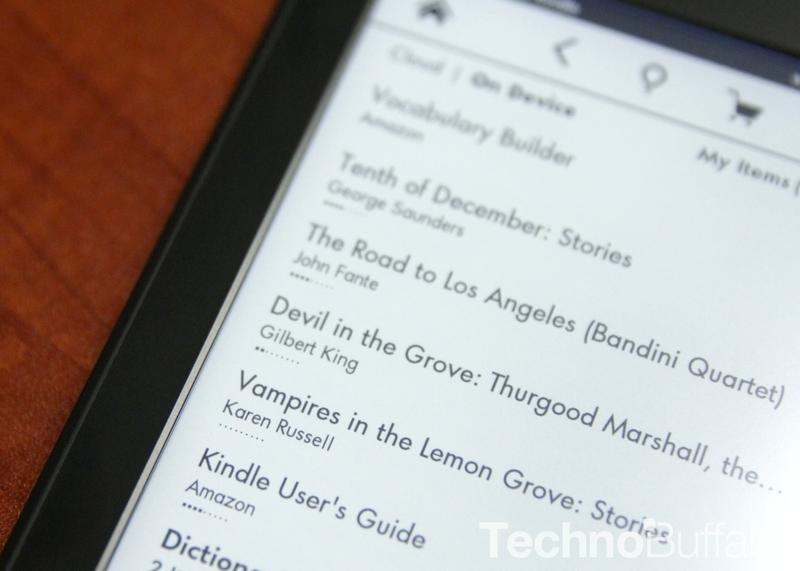 Kindle Paperwhite Book List