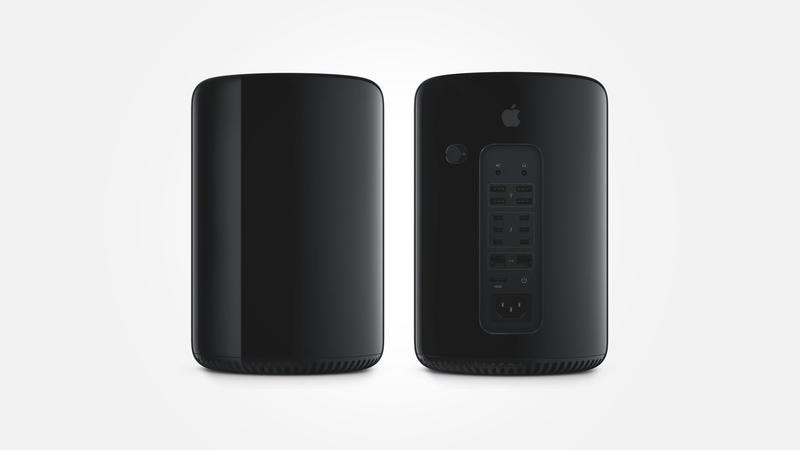 Mac Pro - Front - Back - Hero