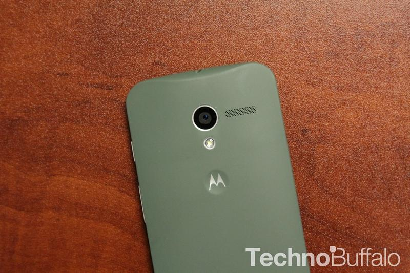 Moto X Custom, Back, Closeup