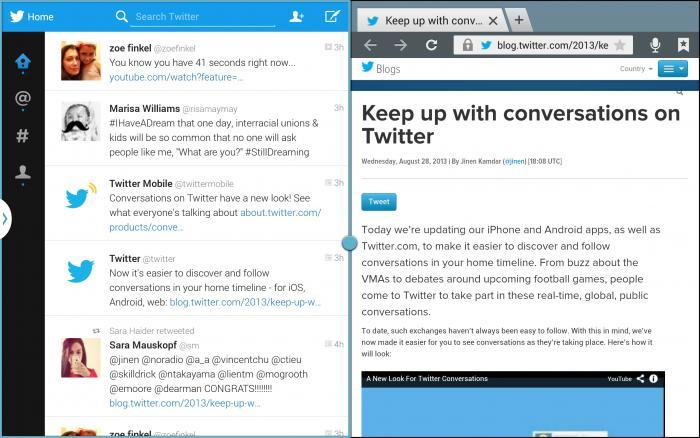 Samsung Gets Exclusive Dibs on Tablet-Optimized Twitter App