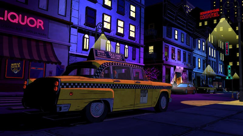 The Wolf Among Us - Cab in Fabletown
