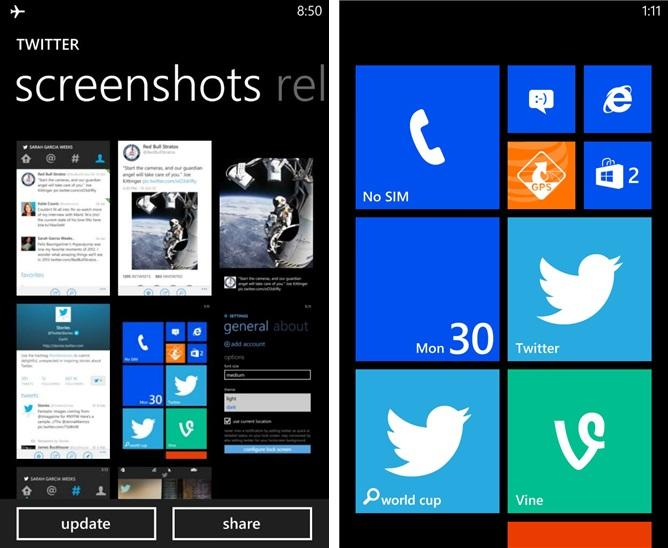 vine-sneak windows phone twitter