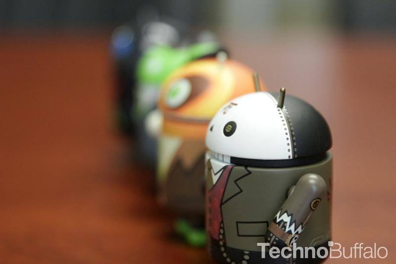 Android Figure lineup