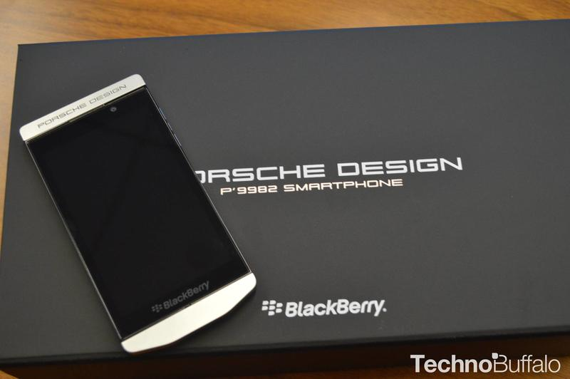 BlackBerry Porsche Design P'9982 Unboxing and Hands-On | TechnoBuffalo