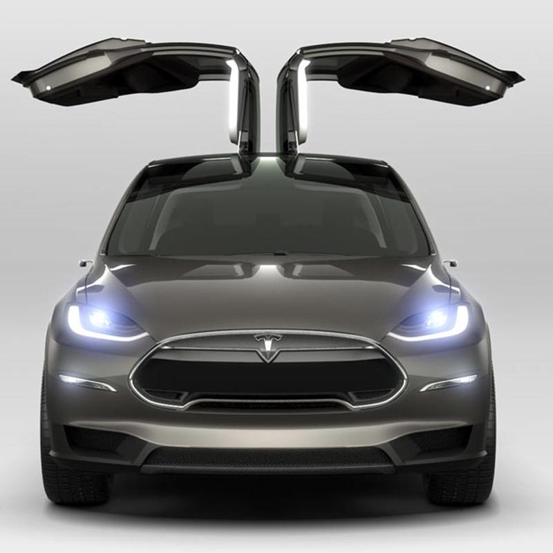 GG2013 - Tesla Model X - Product - Hero