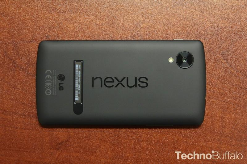 Google Nexus 5-Back